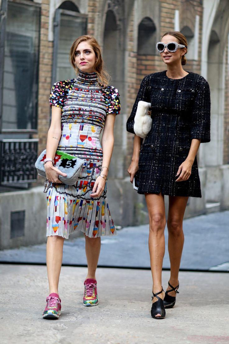 Chanel | Paris Fashion Week SS15 Street Style
