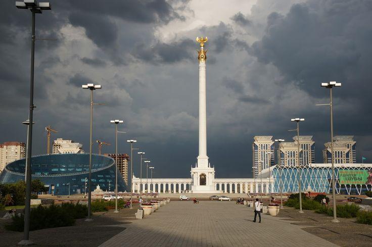 """Монумент """"Қазақ Елі"""" #astana"""