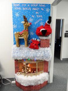 christmas office door. Winter Wonderland Door Decorating Contest Ideas!! Christmas Cubical DecorationsOffice Office D