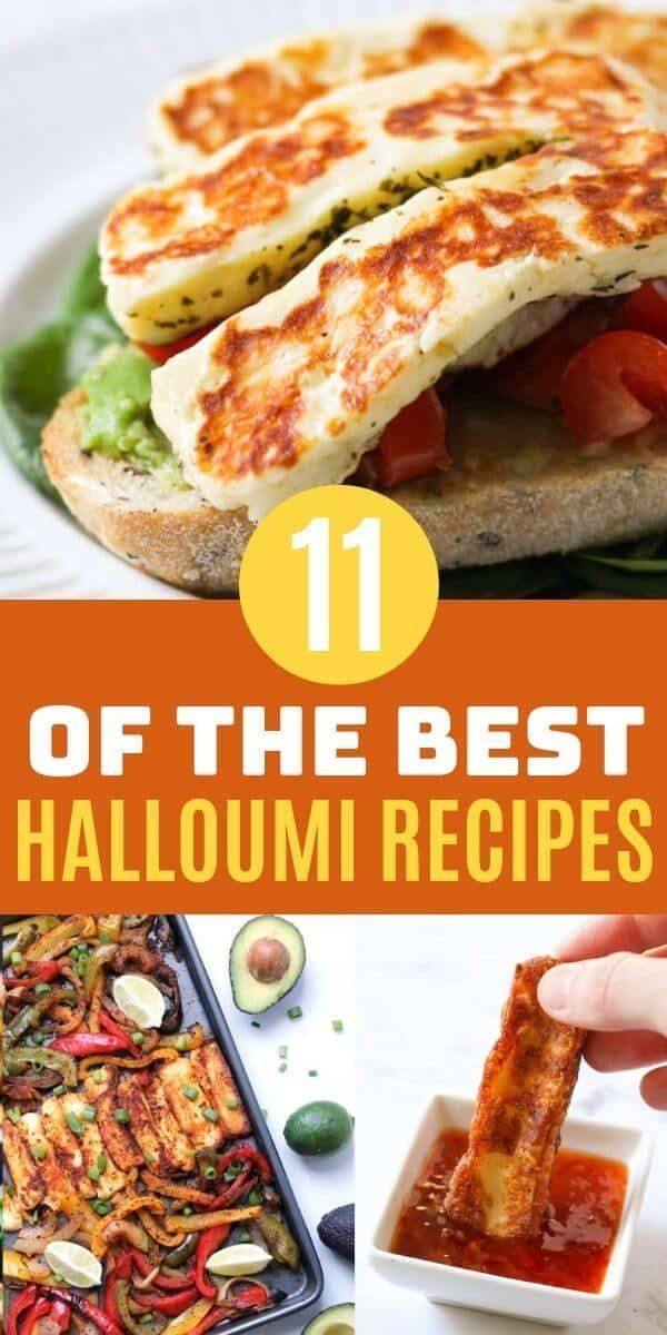 Addicted To Halloumi Here S 11 Delicious Halloumi Recipes Where This Amazing Cheese Is The Star Of The Show Haloumi Recipes Cooking Halloumi Baked Halloumi