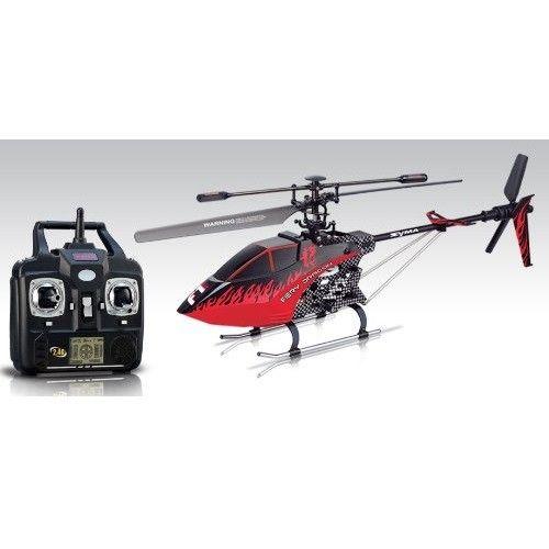 Syma 3 CH Remote Control 2.4G Helicopter with GYRO - F1 - Black Model  YMTH01BK Condition  New  Weight : 6.00 kg  Syma Remote Control Helicopter termurah hanya di Gudang Gadget Murah. Syma 3 menggunakan teknologi GYRO yang membuat helicopter terbang lebih stabil. Syma 3-F1 memiliki design seperti helicopter perang, dilengkapi dengan fitur Speed function yang memungkinkan Anda dapat mengatur kecepatan terbang helicopter - Black
