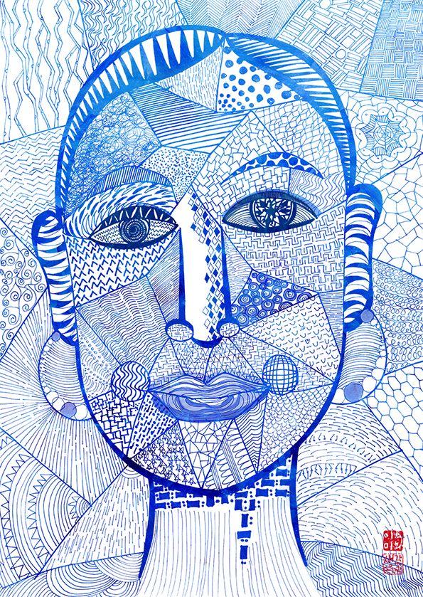 pen illustration_self-portrait