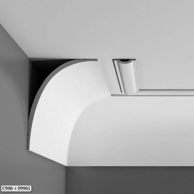 Luxxus Crown Molding C990 - C990