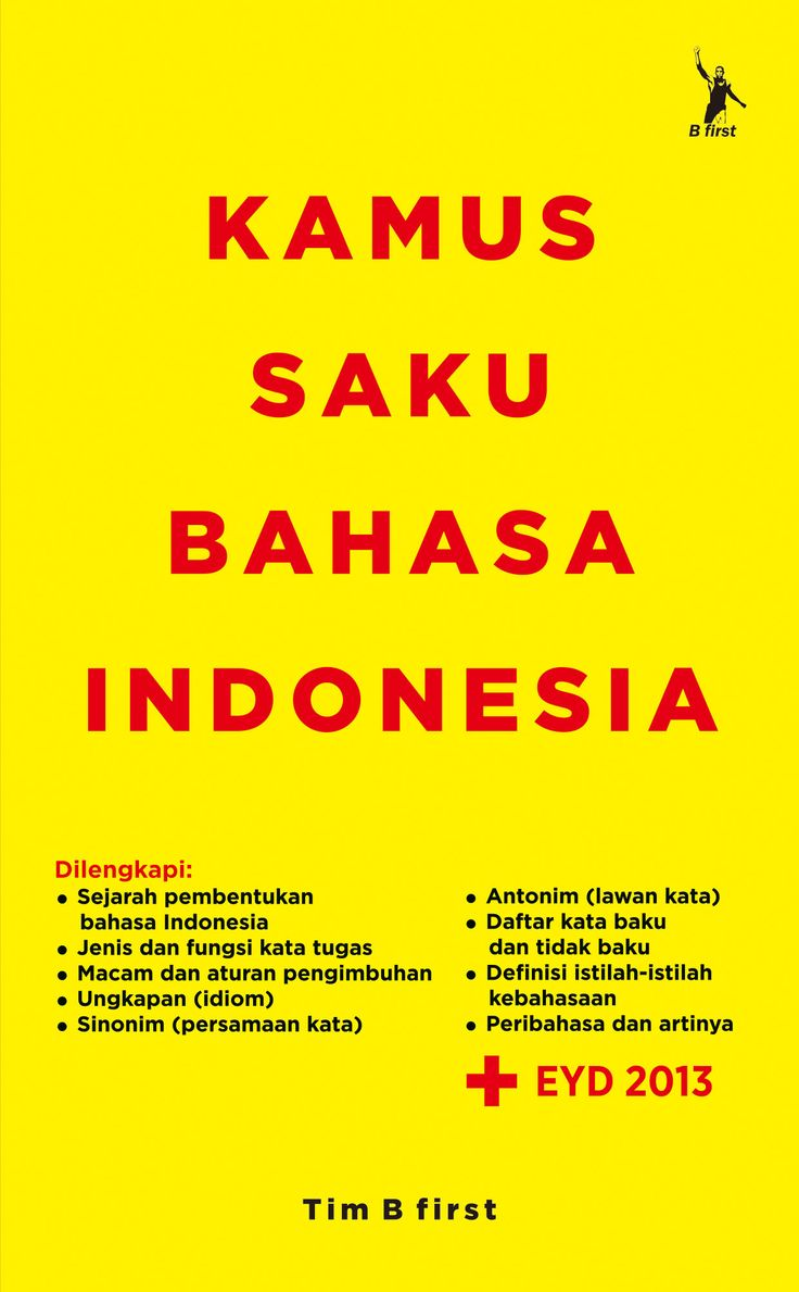 Kamus Saku Bahasa Indonesia - Tim B - First