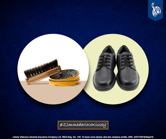 Carrying shoe polish along, for that extra shine during main school events was a Zimmedar move. #ZimmedariKeKissey