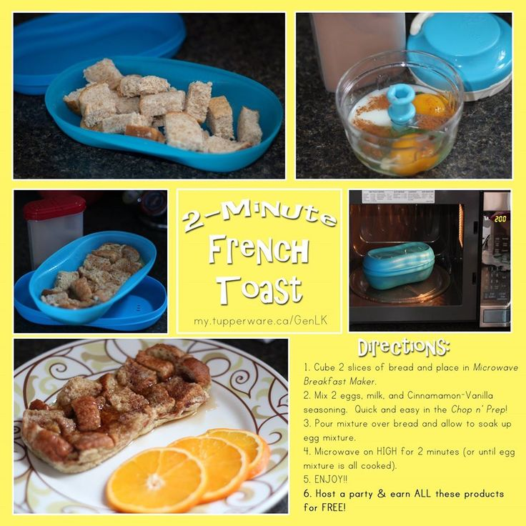 Tupperware Breakfast Maker French Toast