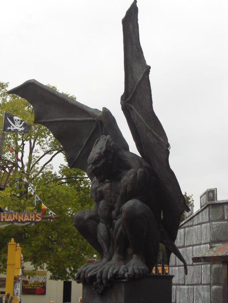 Gargoyle Art | Gargoyle Statue - Side View by nixie04 on deviantART