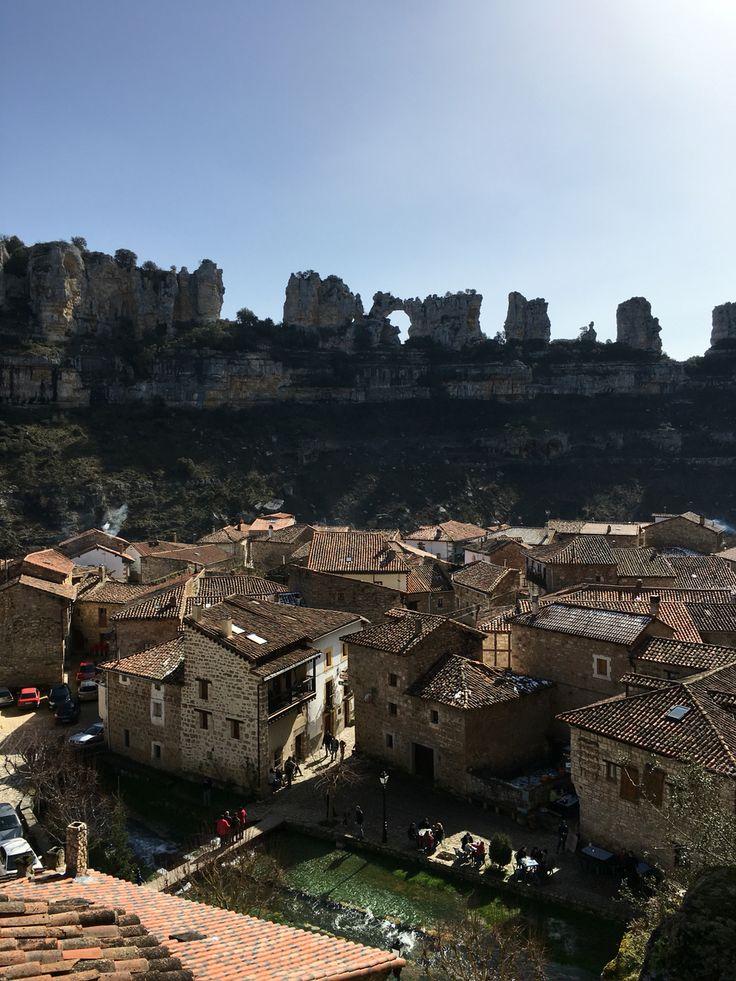 Orbaneja del castillo  El pueblo