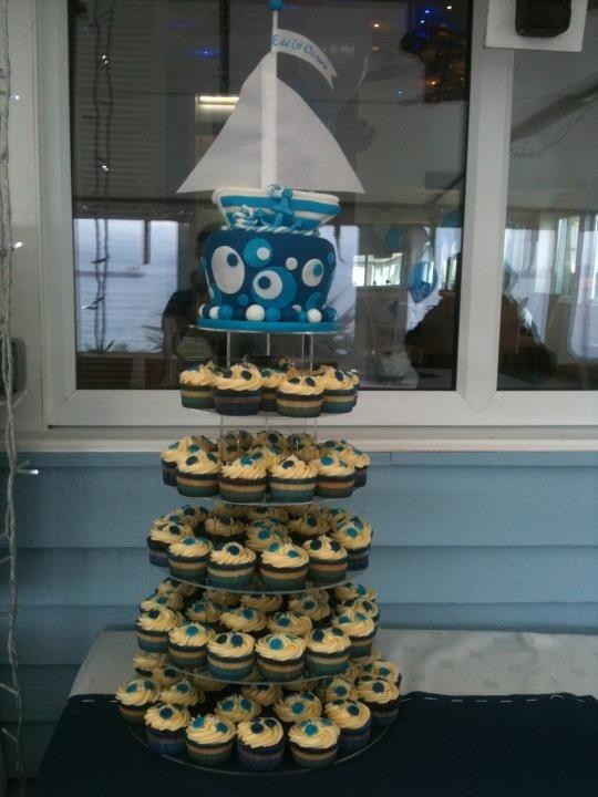 Boat Themed Wedding Cakes
