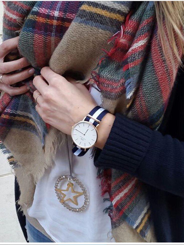 El blog de Pimpa Reloj Daniel Wellington Bufanda Zara