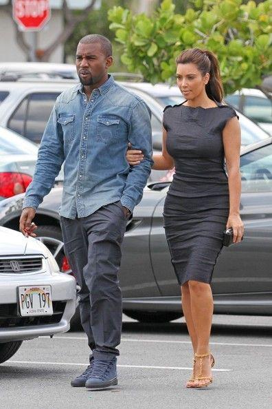 Kim Kardashian Day Dress - Dresses & Skirts Lookbook - StyleBistro