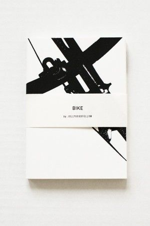 Jollygood Notebooks - bike, pack of 2