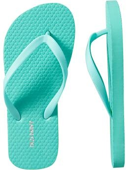 I found the Tiffany Blue flip flop for the girls!! Yay!!
