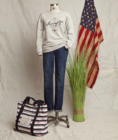 Lexington Hamptonite Collection - Hilaria Sweatshirt #lexingtonhamptonite