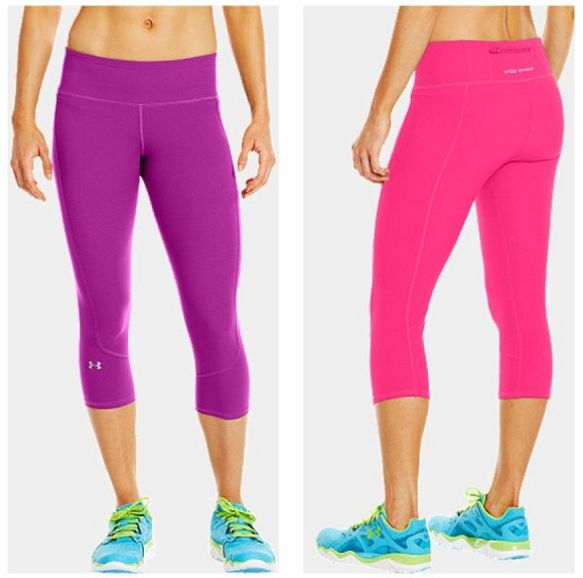 Keep the Pace in the UA Run Stretch Woven Capri: it's soft and comfortable with 4-Way Stretch, it features 360° reflectivity, and of course, our Signature Moisture Transport System wicks sweat to keep you dry and light. Get yours today at the #UAWomen #UnderArmour