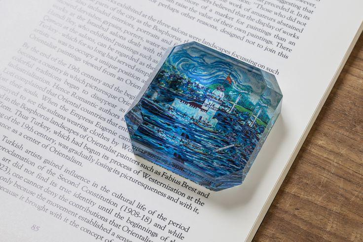 Kağıt ağırlığı... Maviş... online satış: www.istanbul1881.com; #mavis; #kagitagirligi; #mavi; #istanbul; #hediyelik; #hediye
