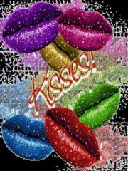 enviar besos abrazos