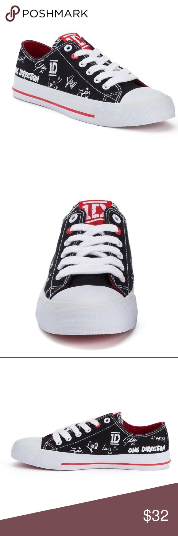 One Direction Autograph Women's Sneakers Nice sneakers,size 8 one direction Shoes Sneakers