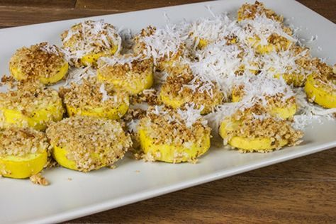 Spicy Baked Yellow Squash | Chili Pepper Madness