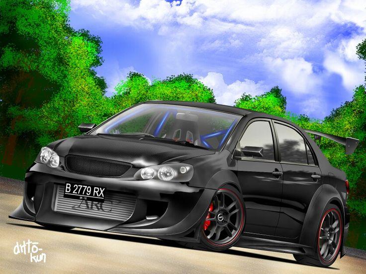 Toyota Corolla Accessories >> Corolla wide body kit!!!!! | Toyota corolla | Wide body kits, Toyota corolla, Wide body