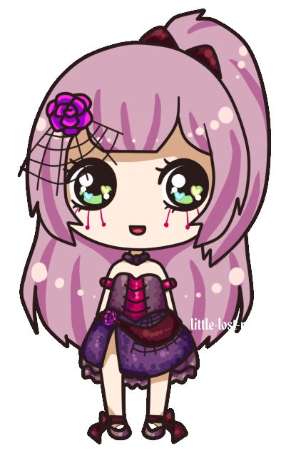 How To Draw A Chibi Girl Cat