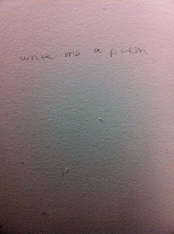 Write me a poem.
