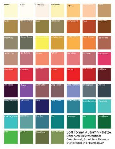 570 Best Soft Autumn Images On Pinterest Color Combos
