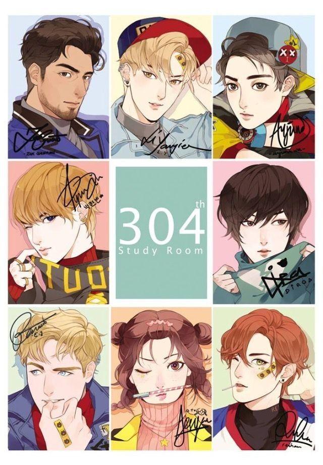 304th Study room di 2020 Ilustrasi karakter, Gambar