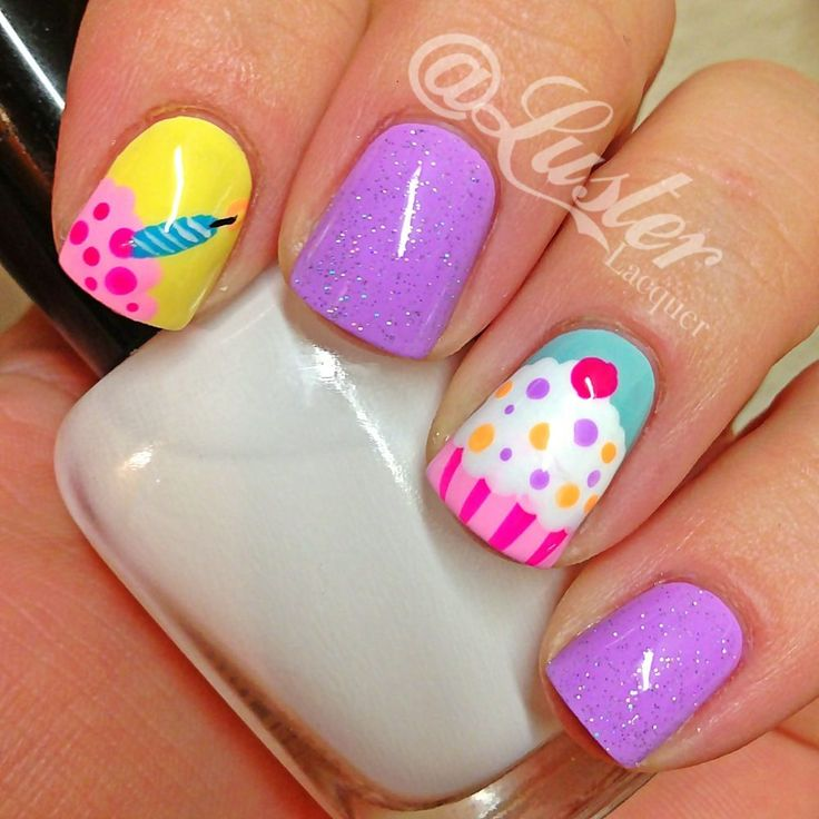 Nail Cake: Best 25+ Cupcake Nail Art Ideas On Pinterest