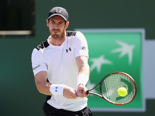 Great Britain's Andy Murray loses out to Federico Delbonis in the third round at Indian Wells in California.