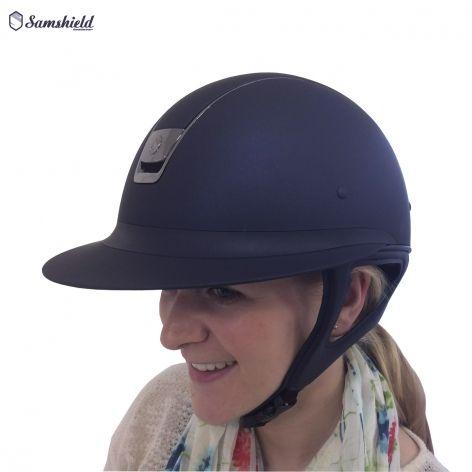 Miss Shield Shadowmatt Riding Hat By Samshield