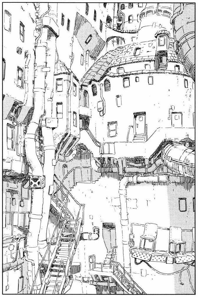 junxyard:  Knights of Sidonia -Tsutomu Nihei