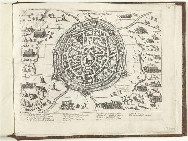 Inname van Oldenzaal door Spinola, 1605, atelier van Frans Hogenberg, 1605 - 1607