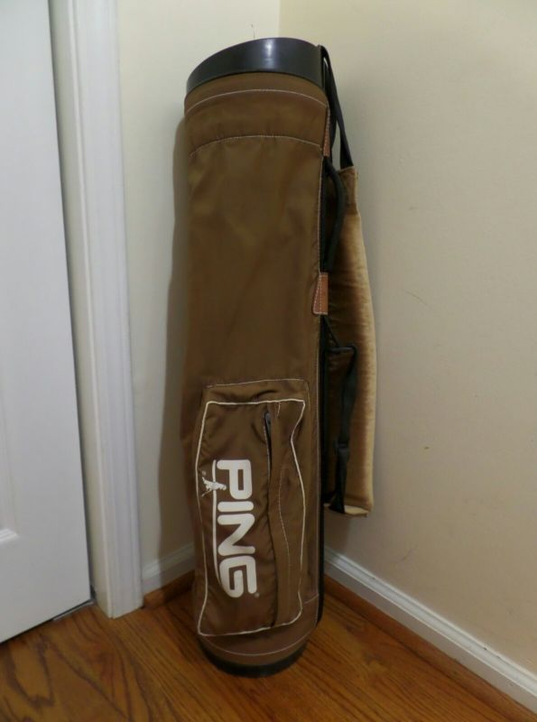 Ping Vintage Carry Golf Bag - http://sports.goshoppins.com/golf-equipment/ping-vintage-carry-golf-bag/