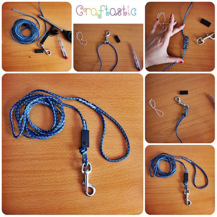 dog leash repair diy easy