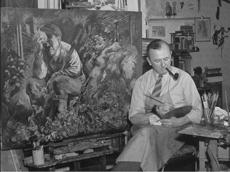 George Grosz. Se cumple hoy el 120 aniversario del nacimiento del pintor e ilustrador dadaísta http://www.veniracuento.com/