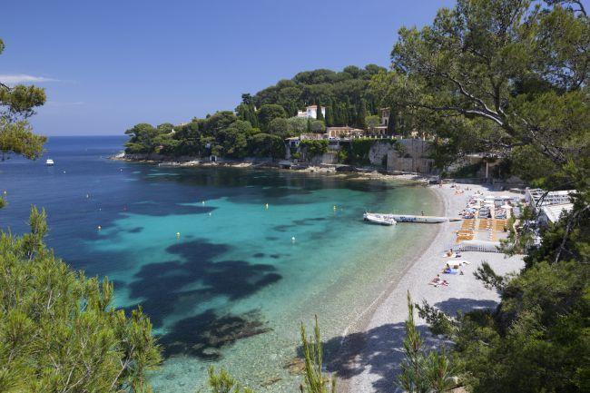 La plus dépaysante : la plage Paloma à Saint-Jean-Cap-Ferrat