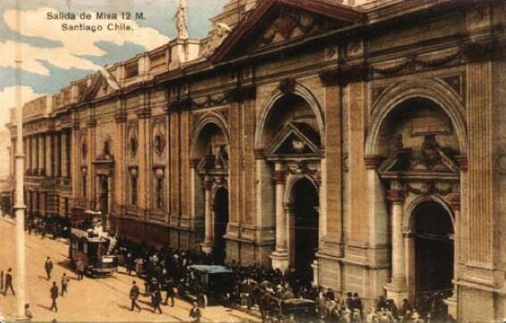 Postal de Santiago