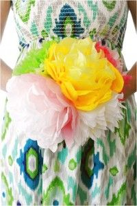 Enchanting Craft Inspiration For Mother's Day DIY Paper Flower Bouquet With Lots Of Flowers And Attractive