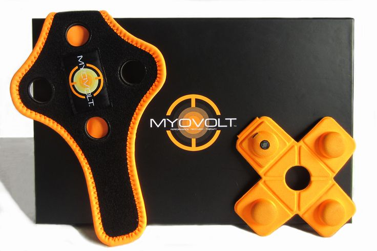 MYOVOLT™ l MYOVOLT is made with soft fabric to mold around body shapes and a frequency trans-missive foam so energy is applied efficiently to deep tissues.