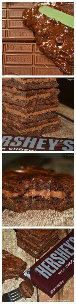 Hershey's Stuffed Brownies