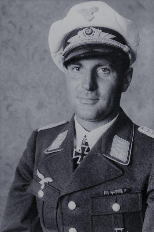 Hauptmann Walter Gericke (1907-1991), Kommandeur IV./Fallschirmjäger Sturm-Regiment 1, Ritterkreuz 14.06.1941, Eichenlaub (585) 17.09.1944