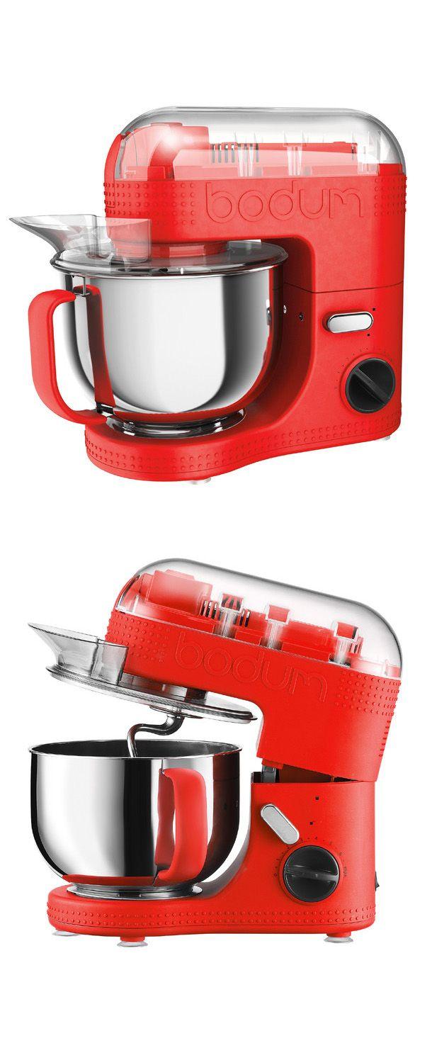 Modern mixer, Bodum, red
