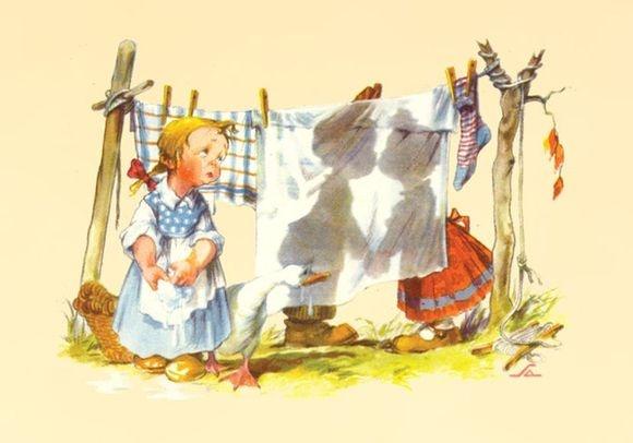 Kartičkové kalendáříky :: Moje sbírka :: Vydané sady kalendáříků :: 2011 pohlednice dětí (Salač) II