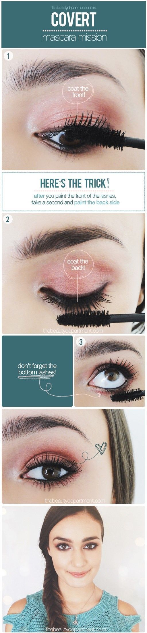 how to apply mascara the right way 1
