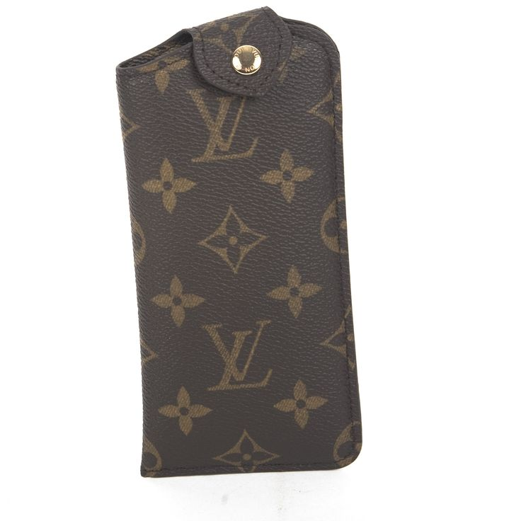 Louis Vuitton Monogram Glasses Case (Authentic Pre Owned)