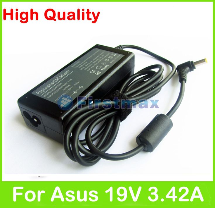 19V 3.42A 65W AC laptop adapter power supply for Asus N10 N10E N10J N10JH N10JM N10V U1 U1E U1F U2 U20 U20G U2E X23 X23A charger #Affiliate