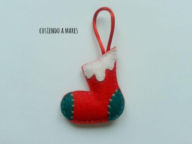 cosiendo a mares ideas para navidad iv adornos navideos de fieltro para