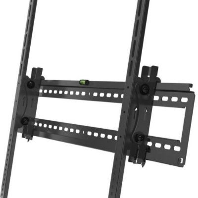 cool Ollo USA T-86 Heavy Duty Wall Mount for 60-80 Inch TVs with Tilt Feature - Black - For Sale