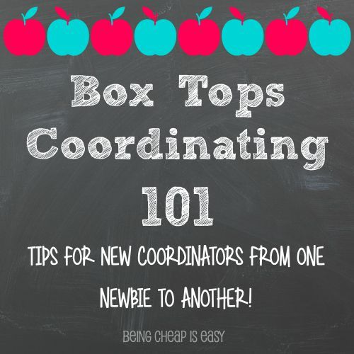 Box Tops Coordinating 101: Tips for newbies from @ItsCheapAsh via Being Cheap is Easy (ad) #Hefty4BoxTops